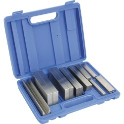 Równoległe precyzyjne bloczki stalowe - Zestaw 16-sztukowy