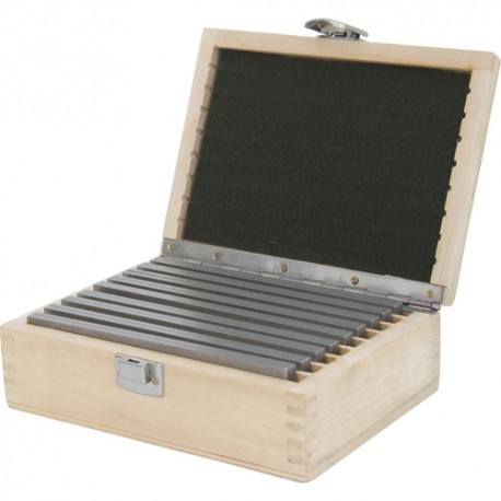 Równoległe precyzyjne bloczki stalowe - Zestaw 18-sztukowy