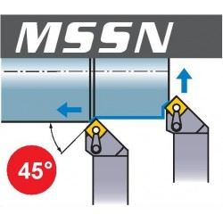 Nóż tokarski MSSN