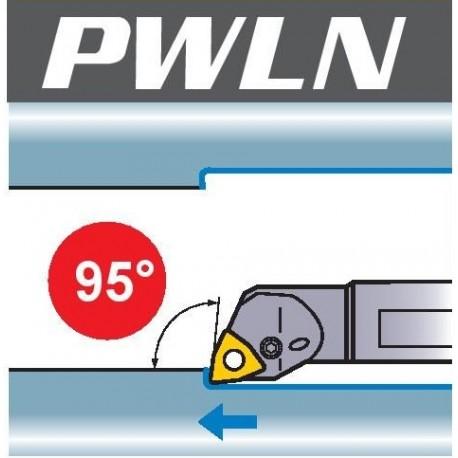 Nóż tokarski wytaczak PWLN