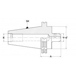 Oprawki zaciskowe DIN do narzędzi z chwytem Weldon'a
