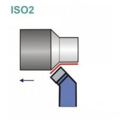Noże tokarskie ISO 2R z płytką lutowaną