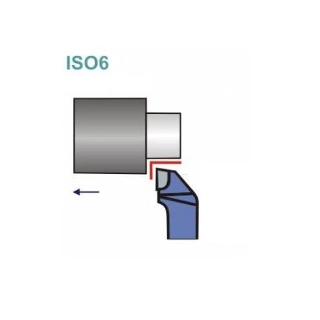 Noże tokarskie ISO 6R z płytką lutowaną
