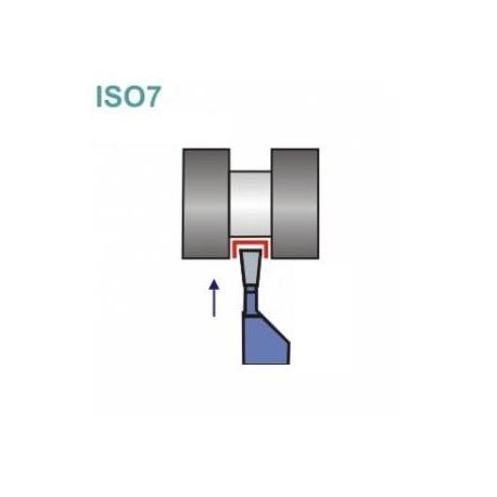 Noże tokarskie ISO 7R z płytką lutowaną