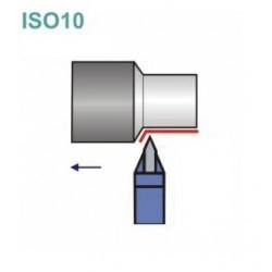 Noże tokarskie ISO 10 z płytką lutowaną