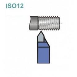 Noże tokarskie ISO 12R z płytką lutowaną
