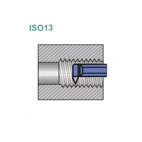 Noże tokarskie ISO 13R z płytką lutowaną
