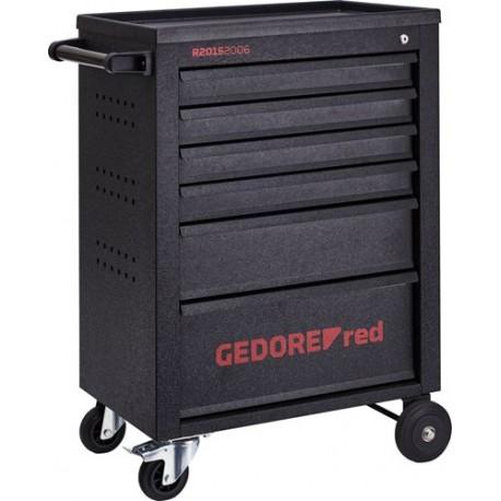 Wózek warsztatowy 6-szuflad GEDORE red