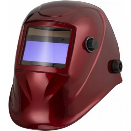 Przyłbica automatyczna APS-718G RED