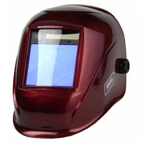 Przyłbica automatyczna APS-958I RED