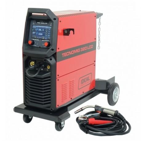 Półautomat spawalniczy TECNO MIG 320 LCD SYNERGIC