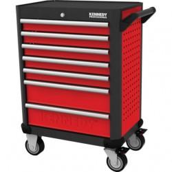 Wózki narzędziowe 5/7 szuflad, obciążenie 550 kg.