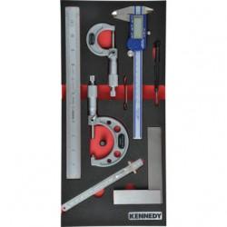 7-elementowy zestaw narzędzi pomiarowych