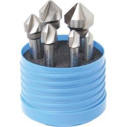 Pogłębiacze 3-zębne 90° HSCo