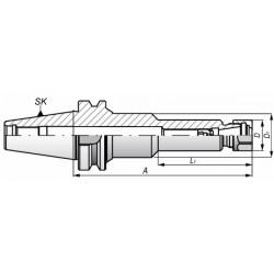 Oprawka zaciskowa MAS 403-BT - ERS