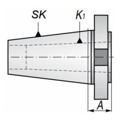 Tuleja redukcyjna ISO-MK, TYP 1655