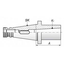 Tuleja redukcyjne ISO-MK TYP 1679