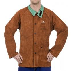 Skórzana kurtka spawalnicza Lava Brown™ WELDAS