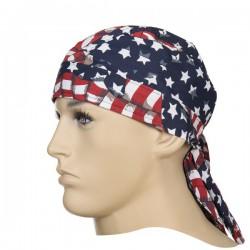 Chusta Doo-Rag, flaga USA, WELDAS