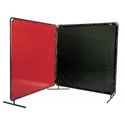 LAVAshield® zielony ekran spawalniczy 1,8 x 1,8 m.