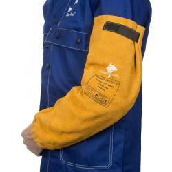 Golden Brown™ skórzane rękawy spawalnicze z dwoiny bydlęcej, W, WELDASELDAS