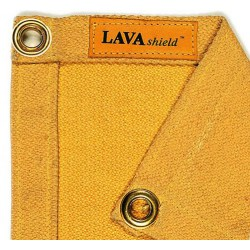 LAVAshield® złoty koc spawalniczy z włóknem szklanym 538ºC. 174 x 234 cm. WELDAS